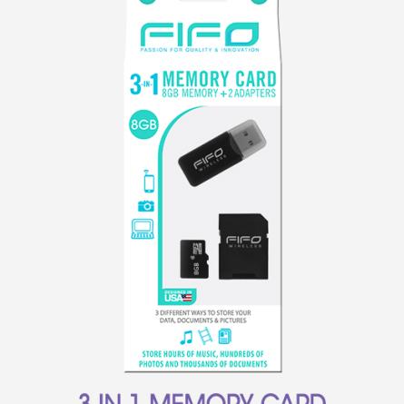 3 in 1 Memory Card